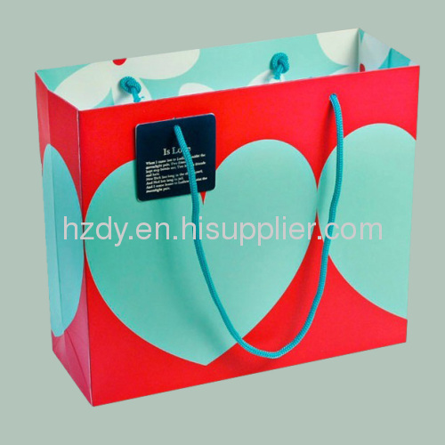 200g ivory board gift paper bag for shopping