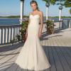 Sweetheart Mermaid Chiffon Beach Wedding dresses with Appliques