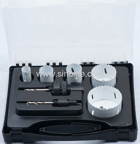 HSS Bi-metal hole saw set 7pcs