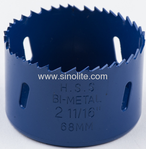 HSS Bi-metal Hole Saw materials: M3, M42 veriable teeth 4/6 TPI teeth diameter from 14-210mm (9/16 -8-17/64 )