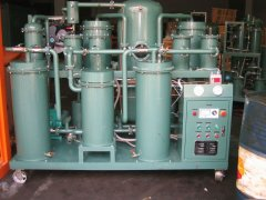 Hydraulic oil filtering machine/Lube oil water removal plant, lubricant oil dehydration machine TYA