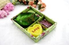 Wedding Valentine Vanilla Promotion Gift Box Candle