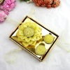 Golden Sunflower Promotion Gift Box Craft Candle
