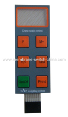 custom-made membrane keypad