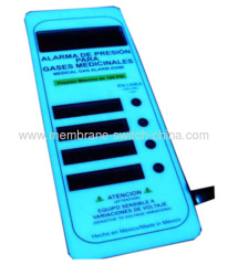 EL backlight membrane switch