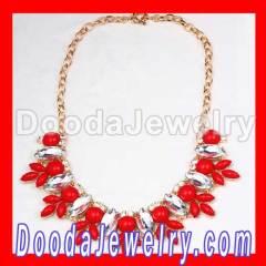 Flower Choker collar Bib Necklace