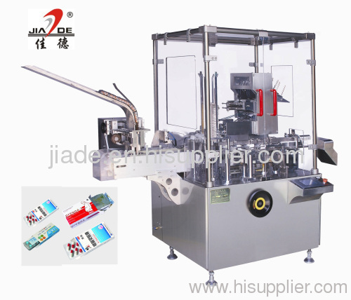 Automatic cartoner for blister