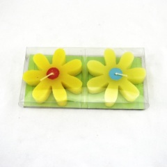 Yellow Flower Craft Candle (RC-264)