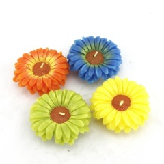 Colour Daisy Flower Craft Candle (RC-277)