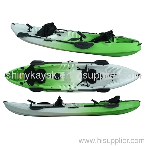 Angler kayak tandem kayak from china manufacturer for Best tandem fishing kayak