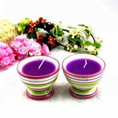 Creamic Candle Holder