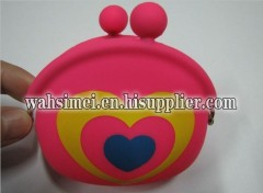 fashion silicone coin purse