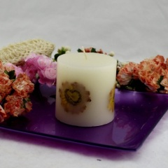 Dasiy Pillar Craft Candle (RC-487)