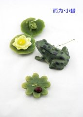 Householde Frog Wax Candle Craft Gifts for Kids
