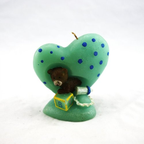 Animal Heart Wax Craft Candle Gifts for Kids