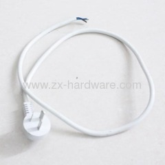 UK standard power supply plug cable