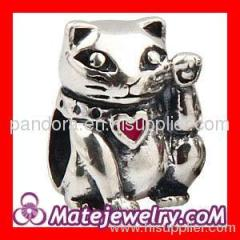 european Lucky Cat Charm wholesale