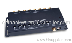 Video Amplifier 1 Input 8 Output Car Audio Parts