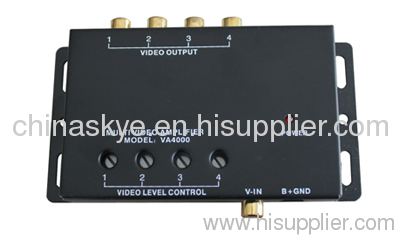 One input 4 output Video Amplifier