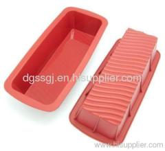 Silicon microwave mini loaf top pan