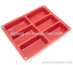 silicon baking molds for loaf decoration