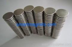 N35 nickel sintered neodymium magnets