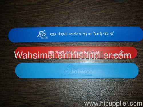 Fashion silicone wristbands for promotional gift