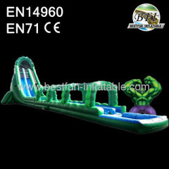 Biggest Hulk Water slide