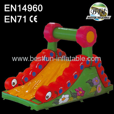 Blow up small inflatable slides