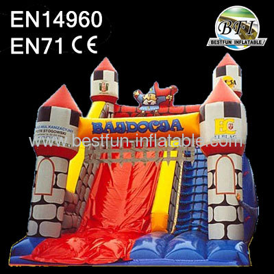 kids inflatable dry slide