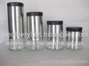 oreal wholesale glass jars