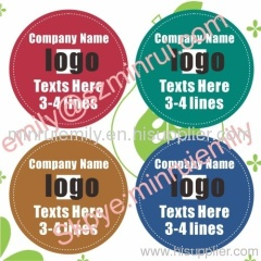 round seal labels