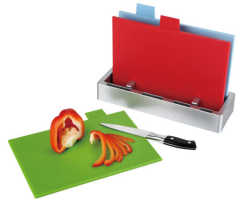 plastic index cutting board