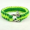 Metal buckle fashion parachute bracelets for escape