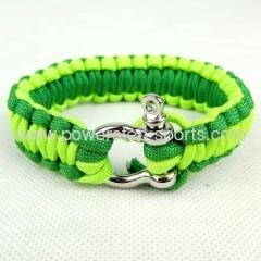 Handmade survival survivor parachute braided bracelet