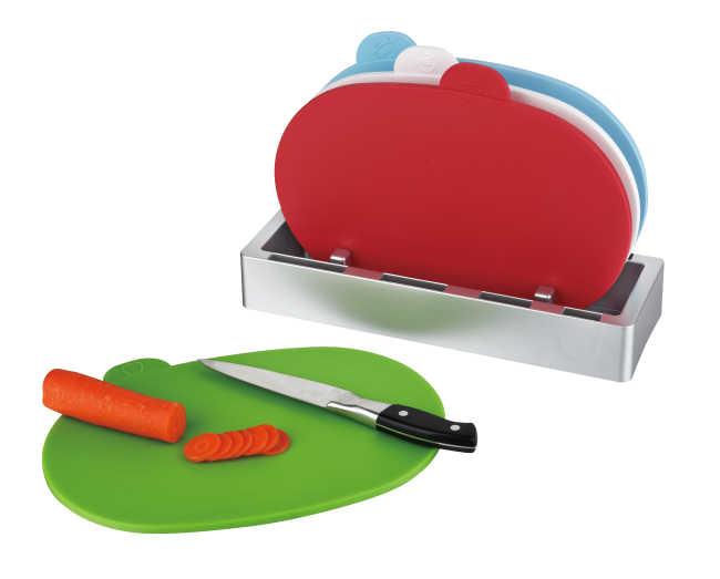 4pcs index chopping board