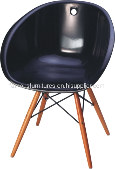 Gliss wood dining chairs