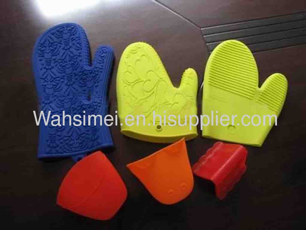 Promotional Silicone Oven Mitts For Kitchen Use