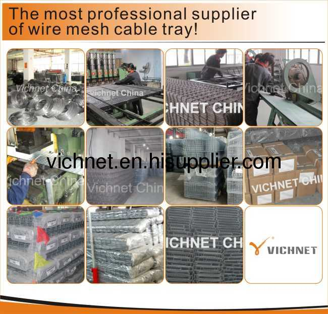 wire mesh cable tray from China manufacturer - Ningbo Vichnet ...