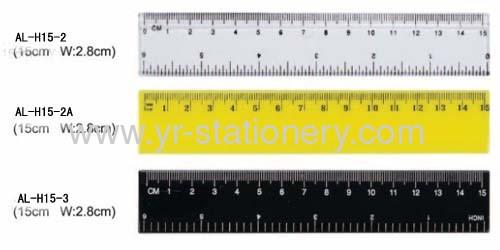 15CM Student Plastic ruler