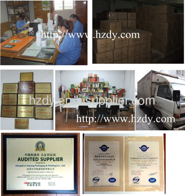Ivory / white board paper box for gift holder