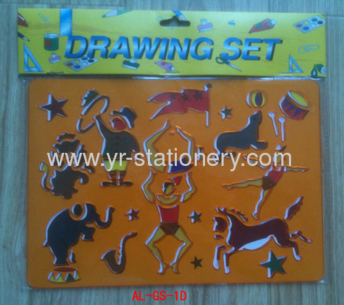 Plastic AnimalDesign Drawing Templates