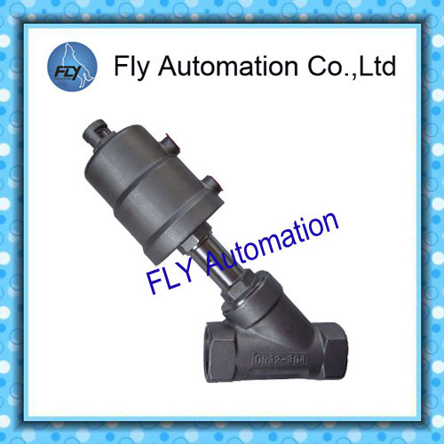 1 1/4Thread size connection DN32 Angle Seat Valve