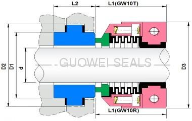 PTFE bellow seals