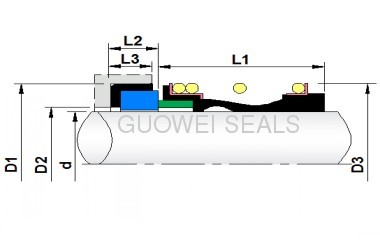 Single-Spring Seal