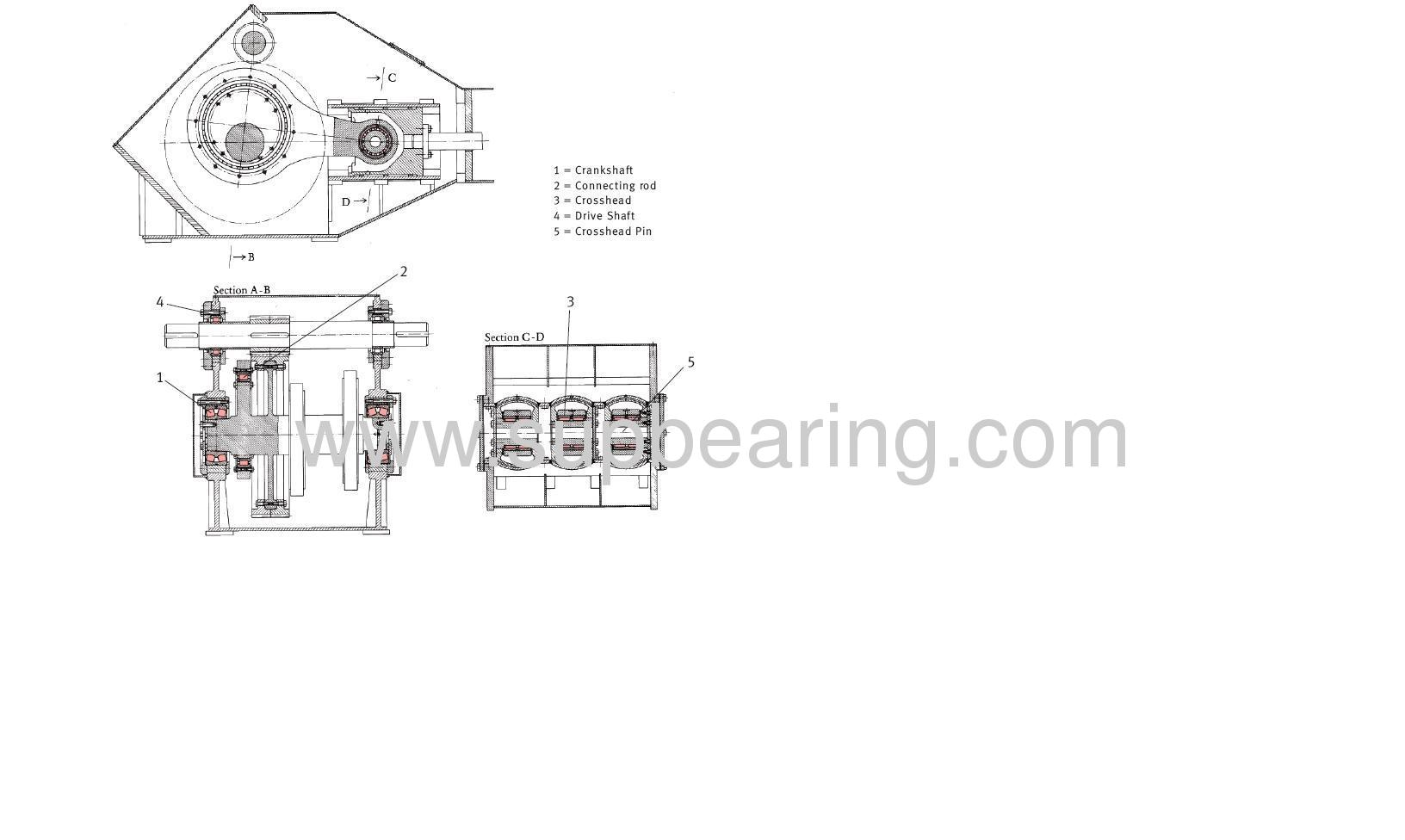 G2792B MUD PUMP BEARING