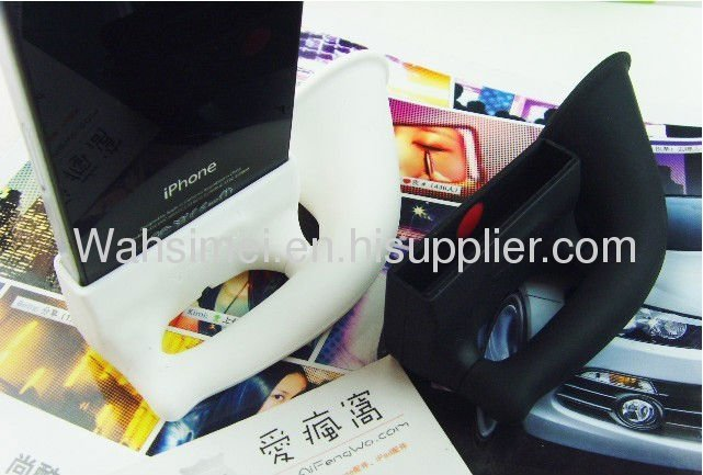 2012 Hot Giveaway For Iphone Silicone Horn