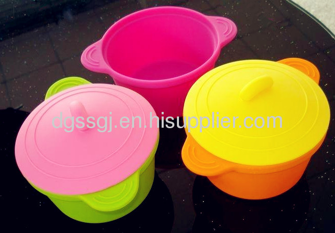 Multicolor Silicone Cooking Steamer