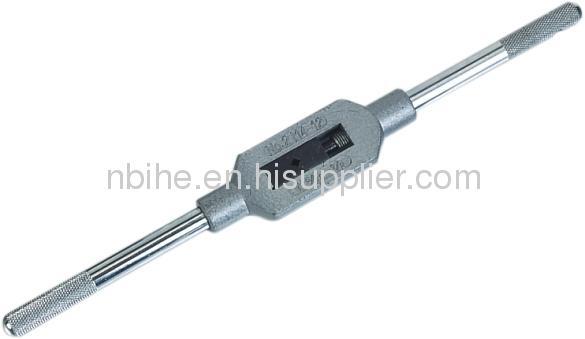 DIN1814 zinc alloy steel adjustable tap wrench