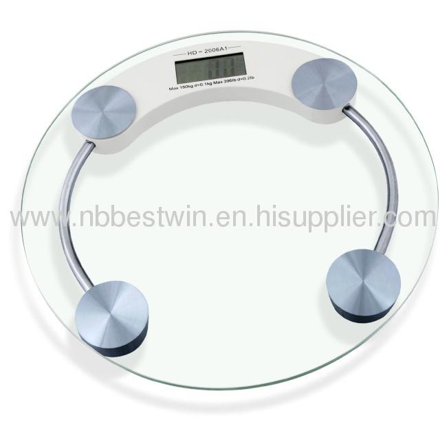 Digital bathroom scale